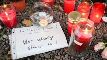 trauerfeier für 20-jähriges terroropfer von halle