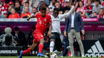 Bundesliga im Free-TV: Eintracht Frankfurt gegen FC Bayern live auf ZDF