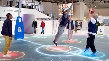 Digitaler Boden: Premiere im Supercup der Volleyballer