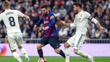 Real Madrid gegen FC Barcelona: Clasico wird verschoben – wegen Katalonien-Unruhen