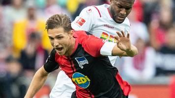 8. Spieltag: Hertha-Trainer schließt Stark-Einsatz nicht komplett aus