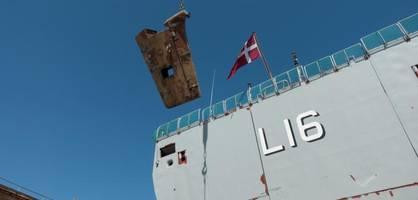 große inspektion: kriegsschiff hdms absalon