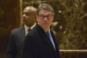 News zu Donald Trump: Energieminister Rick Perry tritt zurück