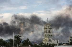 Szenen wie im Krieg: El Chapo-Sohn in Mexiko entdeckt
