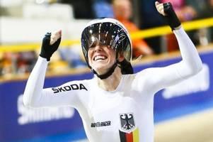 drei medaillen für deutsches bahnradsport-team in apeldoorn