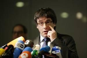 Haftbefehl aus Spanien: Puigdemont meldet sich bei belgischer Polizei