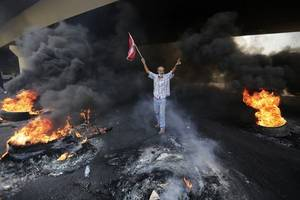 Libanon: Tausende Menschen protestieren gegen Regierung