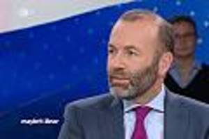 "tv-kolumne ""maybrit illner""  - eu-spitzenpolitiker weber gesteht im tv: ""europa ist handlungsunfähig"""
