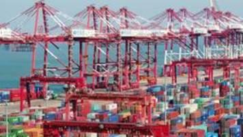 china: schwächstes wachstum seit fast 30 jahren