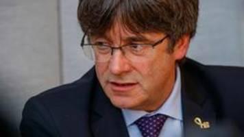 Puigdemont stellt sich nach Haftbefehl in Belgien