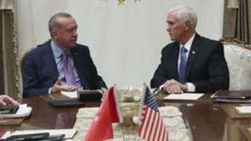 Türkei: USA erkennen Sicherheitszone an