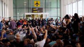 tsunami democràtic in katalonien: protest mit vielen fragezeichen