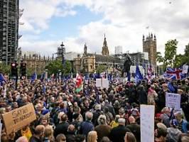 Anti-Brexit-Demo in London: Hunderttausende fordern neues Referendum