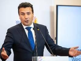 Opfer eines Fehlers der EU: Nordmazedonien plant Neuwahlen