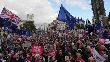 Brexit: Super Saturday in London: hitzige Debatte und Anti-Brexit-Demo im Video