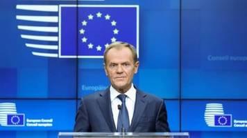 Tusk: Britische Regierung hat Verschiebung des Brexit beantragt