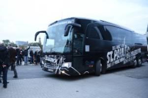 zweite liga: doch nicht mit dem hvv: st. pauli fährt mit mannschaftsbus