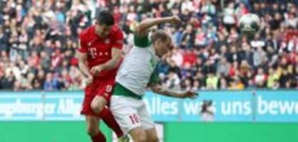 Bundesliga: Bayern spielt nur Remis - Union mit Sieg