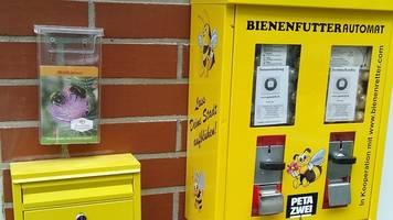 Idee aus Dortmund: Bienenrettung aus Kaugummi-Automaten