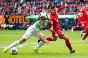 Augsburg entreißt Bayern Derbysieg - Süle am Knie verletzt