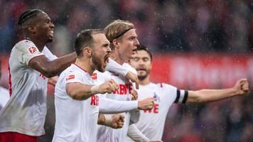 Fußball-Bundesliga: FC Köln gewinnt Kellerduell - Paderborn weiter sieglos