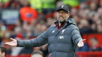 Premier League - Liverpools Siegesserie gerissen: Remis im Old Trafford