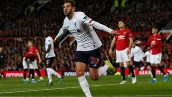 Premier League: Später Treffer rettet FC Liverpool vor erster Niederlage