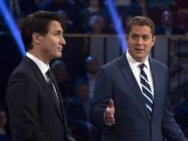 Farblose Alternative zu Trudeau?: Kanada steht vor einer knappen Wahl