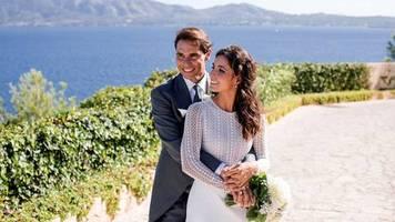 Leute von heute: Erste Hochzeitsfotos: Rafael Nadal und seine Mery haben geheiratet