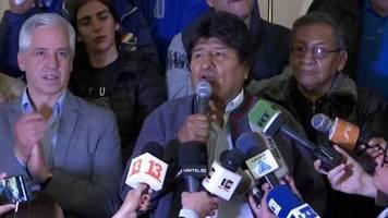 Video: Präsidentschaftswahl in Bolivien: zweite Runde wahrscheinlich