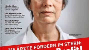 medizin für menschen: mensch vor profit! diese mediziner haben den Ärzte-appell bislang unterzeichnet