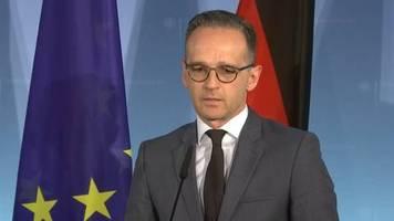Video: Außenminister Maas hält eine kurze Brexit-Verschiebung für möglich