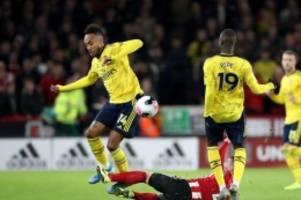Premier League: Arsenal patzt in Sheffield - Özil wieder nicht im Kader
