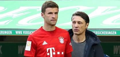 Kovac lässt Einsatz von Müller auch diesmal offen