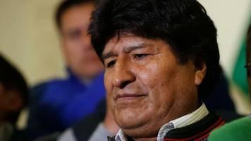 südamerika: wahl in bolivien: morales führt – stichwahl entscheidet