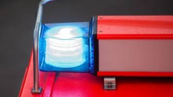 Rot übersehen: Vier Verletzte bei Zusammenstoß