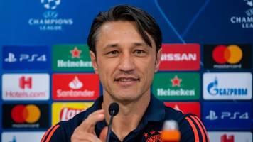 Champions League: Hoeneß fordert Tor-Geilheit - Kovac lässt Süle-Ersatz offen