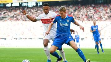 Kiel: Holstein Kiel siegt bei Bundesliga-Absteiger VfB Stuttgart