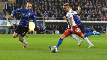 Topspiel in der 2. Bundesliga: HSV holt Punkt gegen Arminia Bielefeld