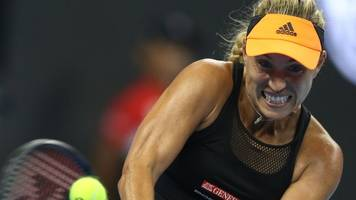 WTA-Ranking: Kerber rutscht in Tennis-Weltrangliste weiter ab