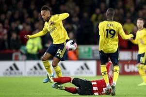 Arsenal patzt in Sheffield - Özil wieder nicht im Kader