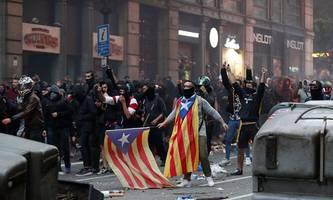 Europarat beklagt Gewalt gegen Journalisten bei Katalonien-Protesten
