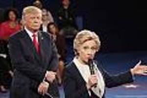 Satire auf Schreiben an Erdogan - Hillary Clinton ärgert Donald Trump