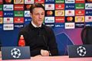 +++ Pressekonferenz live +++ - Kriselnde Bayern? Vor dem Spiel gegen Piräus stellt sich Niko Kovac der Presse
