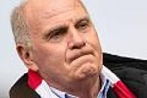 """FC Bayern - Bayern-Präsident Hoeneß wütend: """"So ein Käse! Wollen Sie uns eine Krise einreden?"""""""