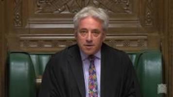 London: Parlamentspräsident verweigert Votum über Brexit-Deal