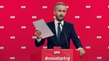 spd-vorsitz: böhmermann bleibt hartnäckig