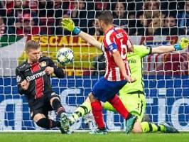 Dritte Niederlage bei Atlético: Leverkusen kann Achtelfinale wohl abhaken
