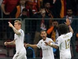 tore satt in champions league: kroos erlöst real, tottenham die fans