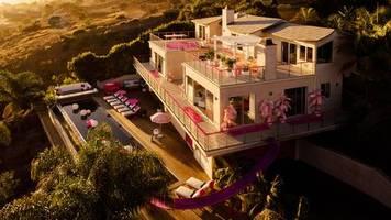 luxus-puppenhaus: barbie-traumhaus für jedermann: in diesem airbnb kannst du einen traum in pink erleben